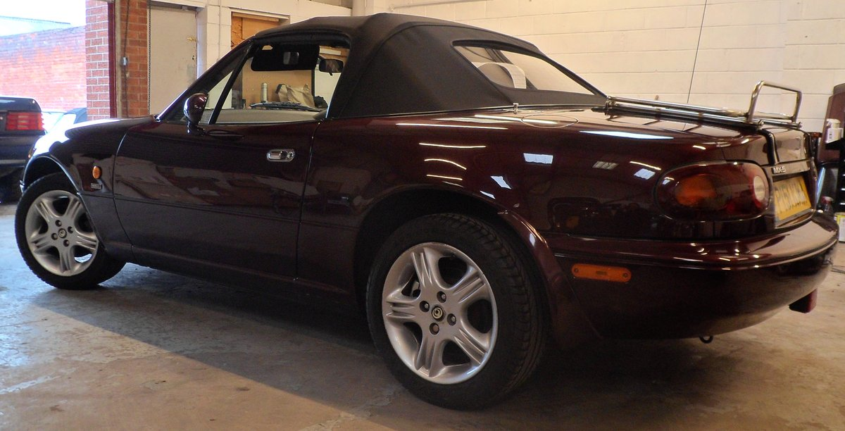 1996 Mazda MX5 Merlot 42000 miles For Sale (picture 3 of 6)