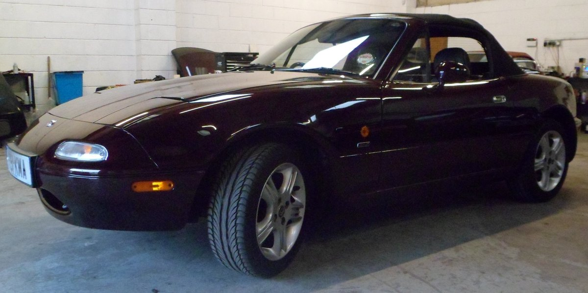 1996 Mazda MX5 Merlot 42000 miles For Sale (picture 4 of 6)