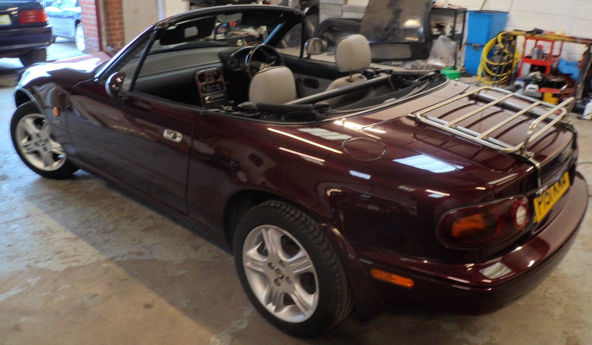 1996 Mazda MX5 Merlot 42000 miles For Sale (picture 6 of 6)