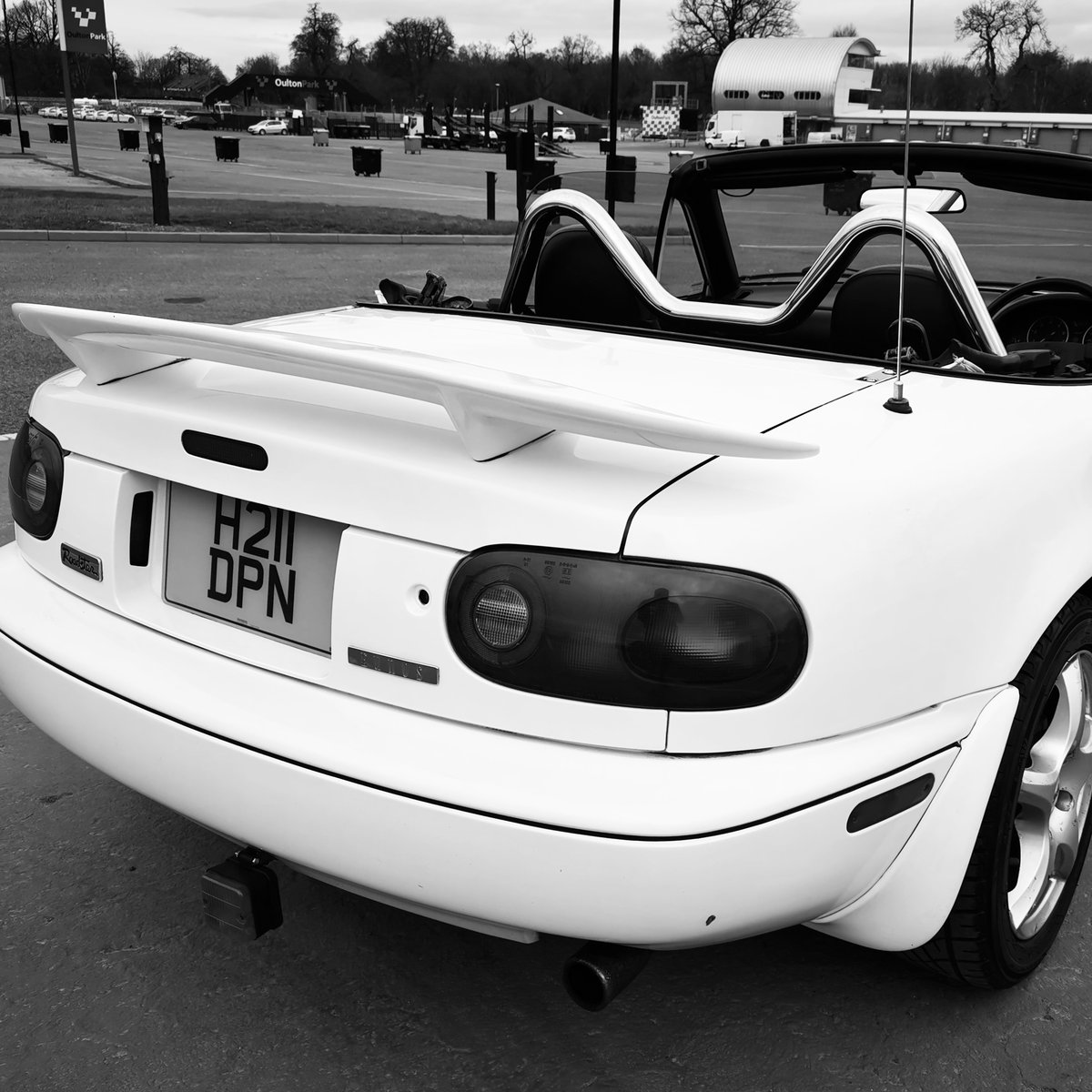 Mazda Mx5 mk1 Eunos 1991 Pearlescent White/Pink JD For Sale (picture 1 of 6)