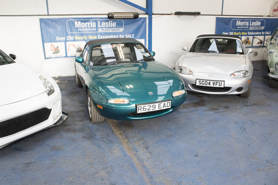 1998 Mazda MX-5 Berkeley - For Sale by Auction 23rd February SOLD by Auction (picture 1 of 6)