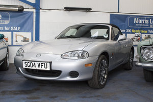 2004 Mazda MX5 Euphonic 839 Miles From New At Morris Leslie SOLD by Auction