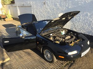 1995 MX5 Eunos 1.8 automatic - black & black
