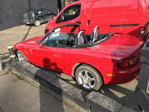 2001 £995 Mazda MX5 with years Mot ready for summer fun now! For Sale