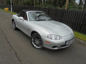 2004 04 MAZDA MX5 1.8 EUPHONIC One Owner 840 Miles Since New For Sale