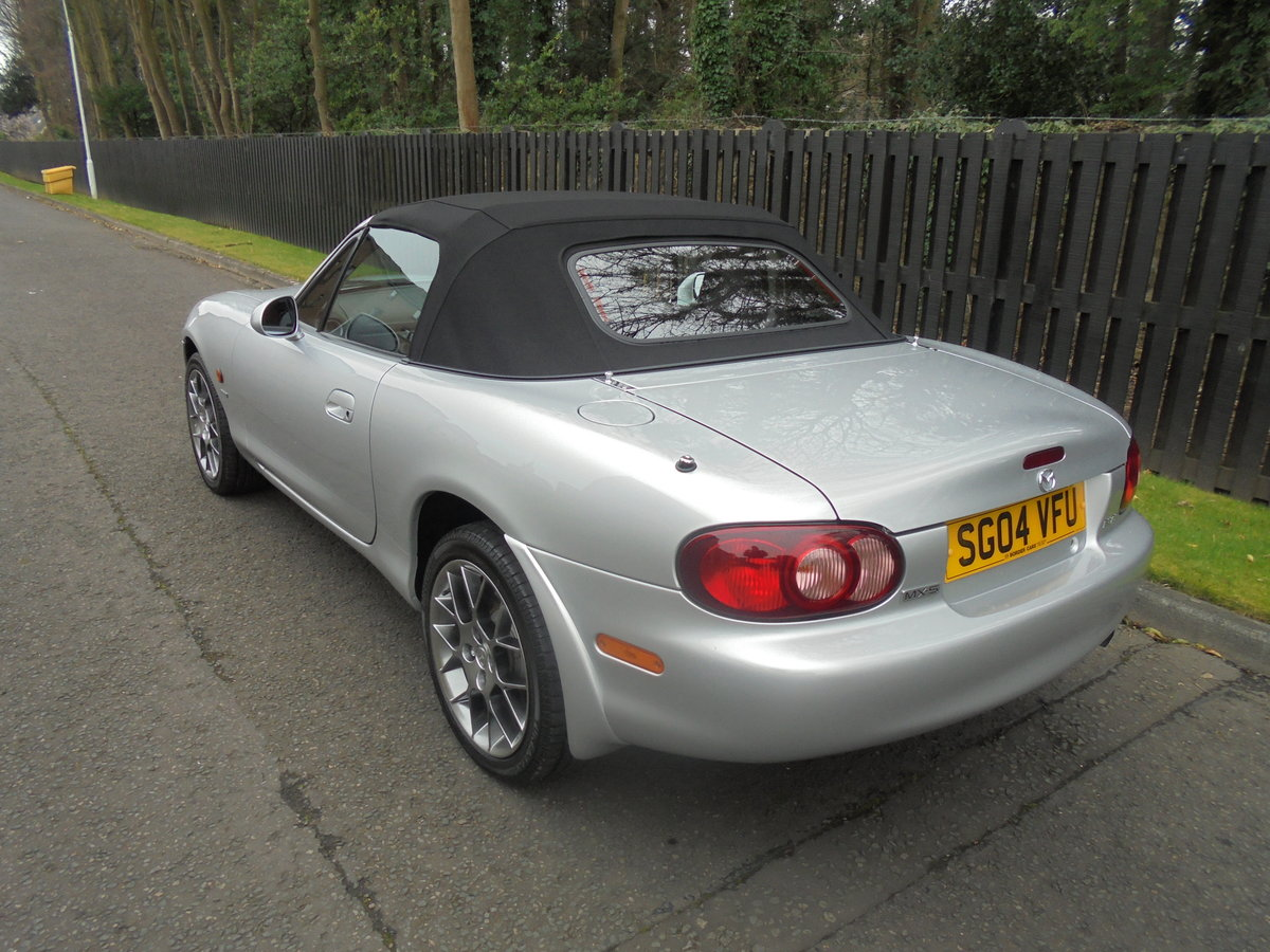 2004 04 MAZDA MX5 1.8 EUPHONIC One Owner 840 Miles Since New For Sale (picture 6 of 6)