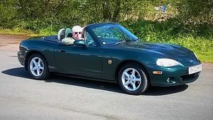 2002 MX5 mk2.5 AUTOMATIC SOLD