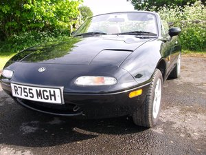 Mazda MX5 1.6 1997	 Leather seats		£1,200 For Sale