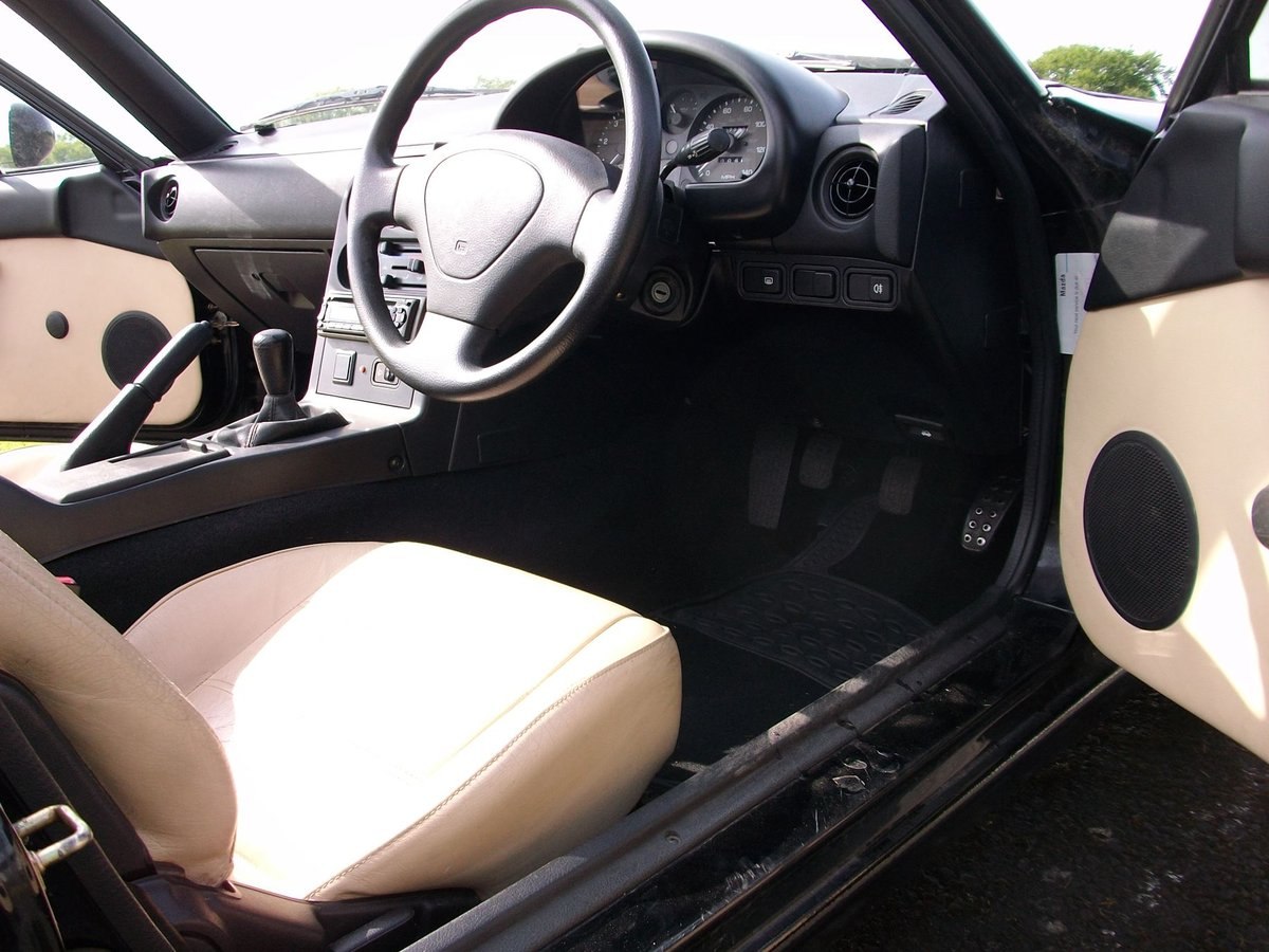 Mazda MX5 1.6 1997	 Leather seats		£1,100 SOLD (picture 6 of 6)