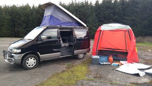 1997 Mazda Bongo 2.5TD Auto, Free Top., Camper, Day Van, Awning   For Sale