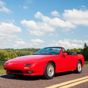 1989 Mazda RX-7 Convertible =Manual 22k miles Zoom $17.9k
