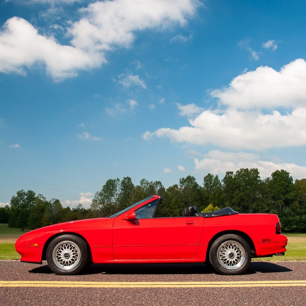 1989 Mazda RX-7 Convertible =Manual 22k miles Zoom $17.9k For Sale (picture 2 of 5)