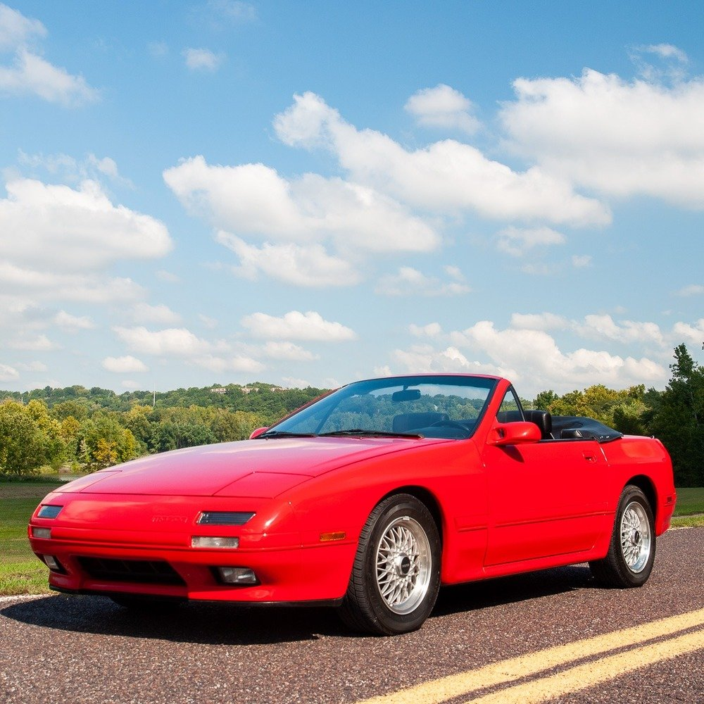 1989 Mazda RX-7 Convertible =Manual 22k miles Zoom $17.9k For Sale (picture 4 of 5)