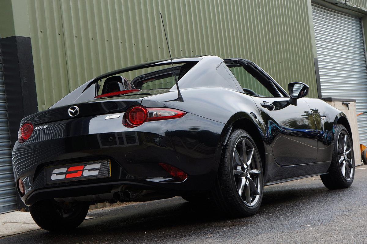2018 Mazda MX5 2.0 RF Sport Nav Skyactiv, 3,700 miles, High Spec For Sale (picture 2 of 6)