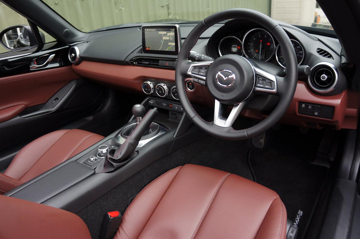 2018 Mazda MX5 2.0 RF Sport Nav Skyactiv, 3,700 miles, High Spec For Sale (picture 4 of 6)