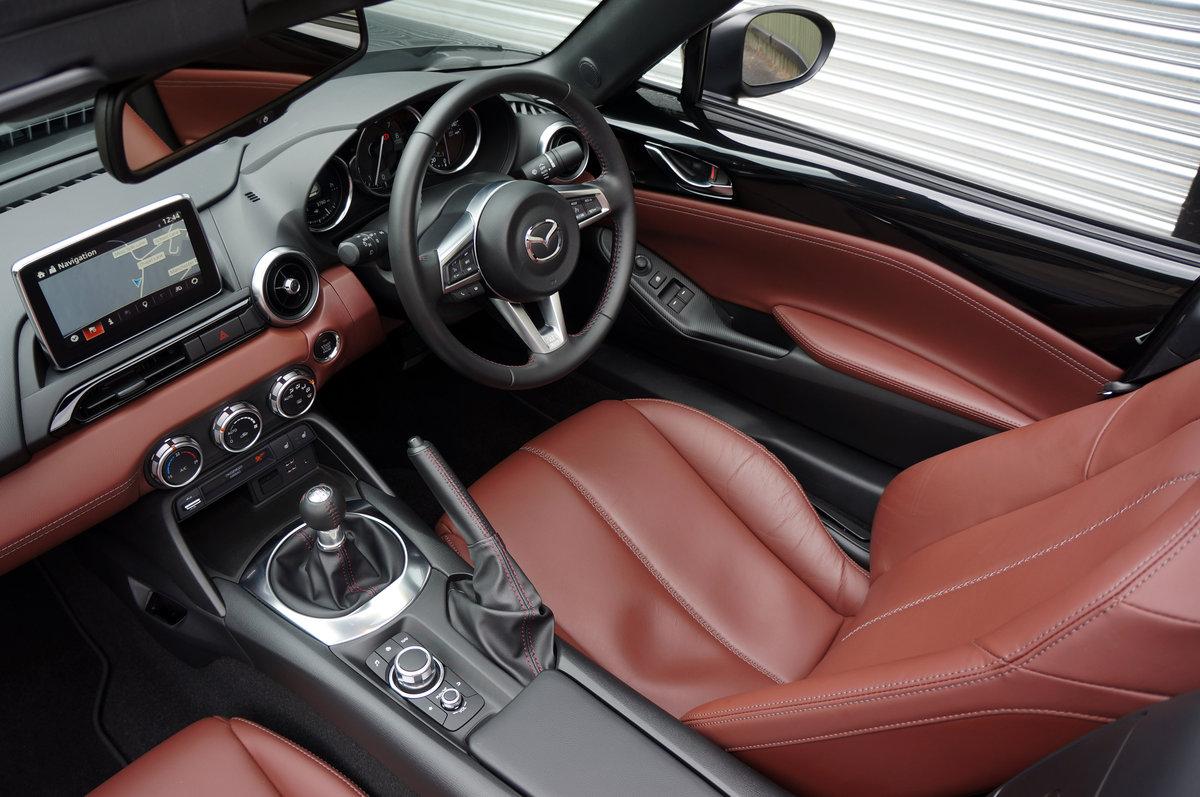 2018 Mazda MX5 2.0 RF Sport Nav Skyactiv, 3,700 miles, High Spec For Sale (picture 5 of 6)