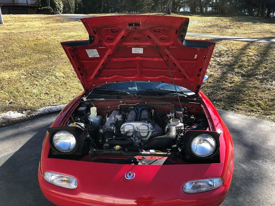 1991 Mazda MX-5 Miata (Shavertown, Pa) $9,999 obo For Sale (picture 4 of 6)