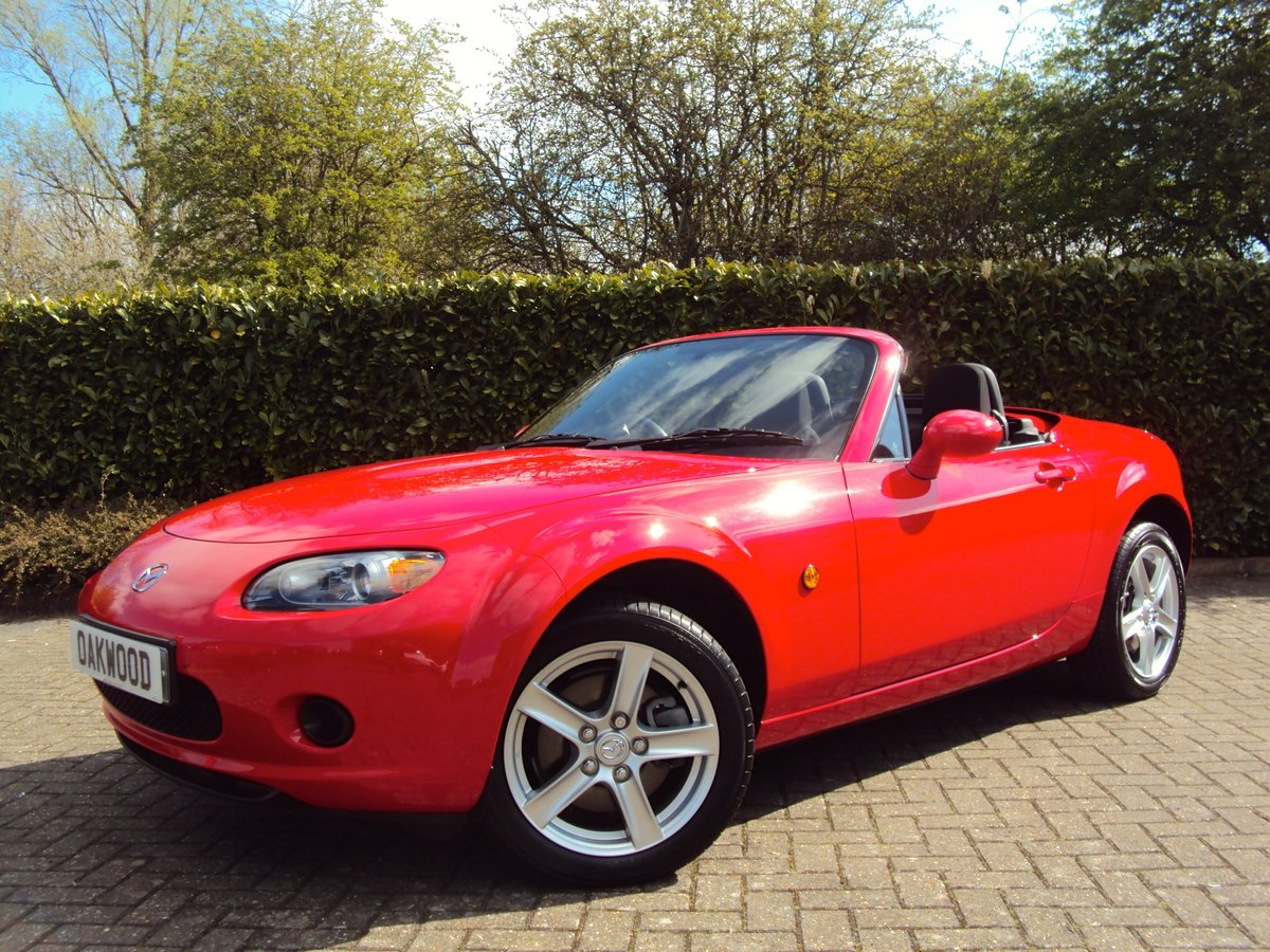 2007 THE PERFECT MX-5??? FOLDING HARDTOP UNDER 13K MILES FMDSH!! For Sale (picture 1 of 6)