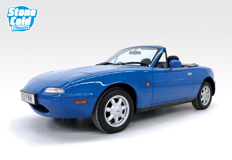 1991 Mazda MX-5 1.6i with just 16,400 miles SOLD (picture 1 of 6)