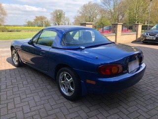 1999 MX 5 10th Anniversary Limited Edition For Sale (picture 4 of 6)