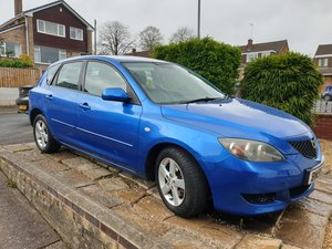 2005 MAZDA 3 TS 1.6 PETROL 5DR BLUE For Sale
