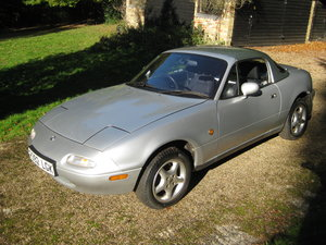 1997 MX5 Mk1 1.8 with factory hardtop SOLD