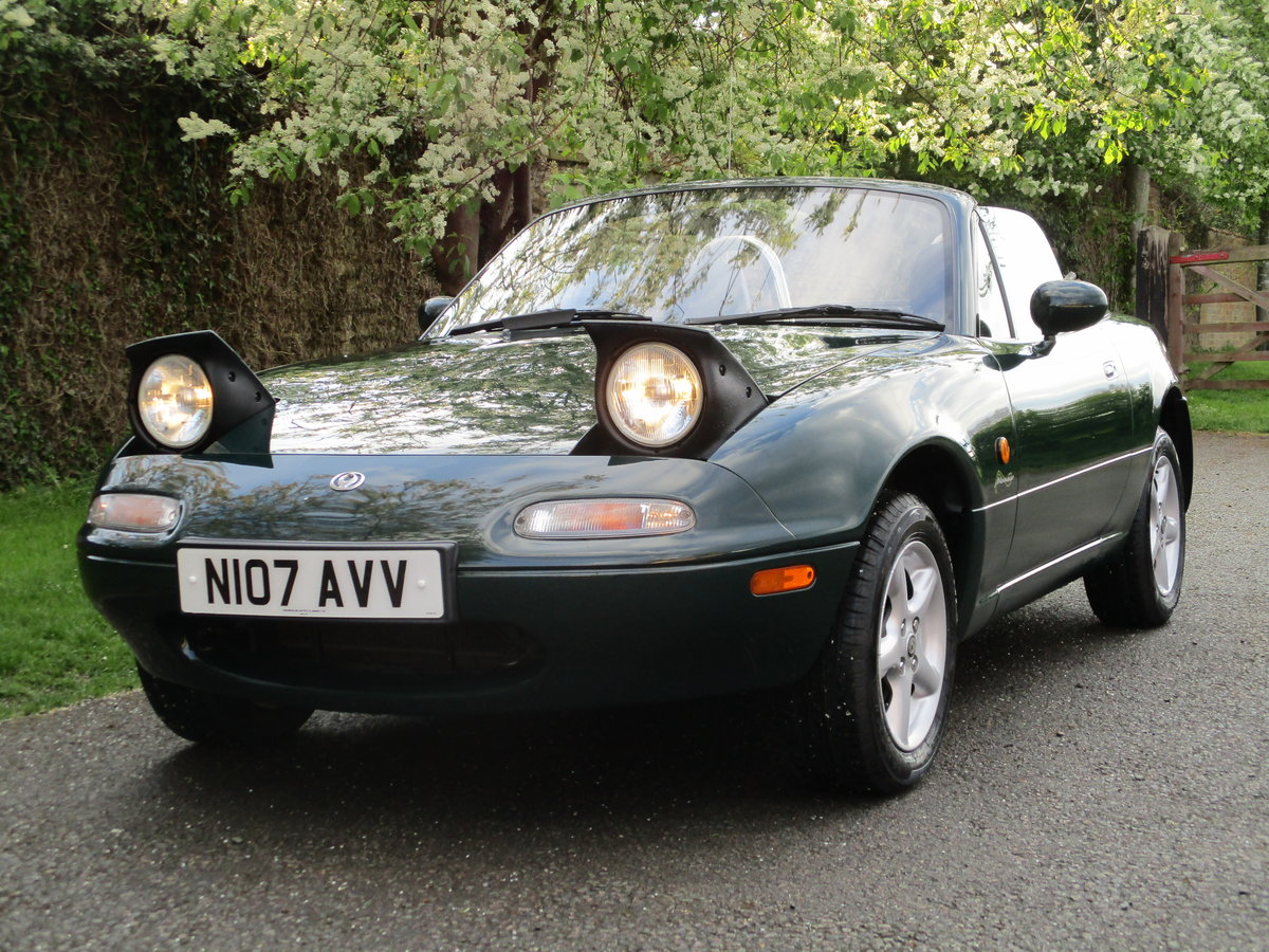 1996 Exceptional low mileage MX5 MK1. MX5 SPECIALISTS For Sale (picture 1 of 6)