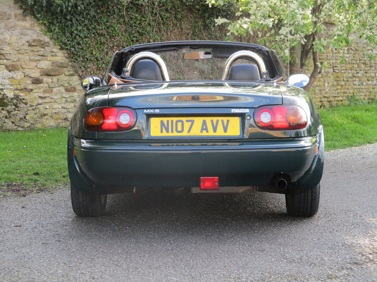 1996 Exceptional low mileage MX5 MK1. MX5 SPECIALISTS For Sale (picture 5 of 6)