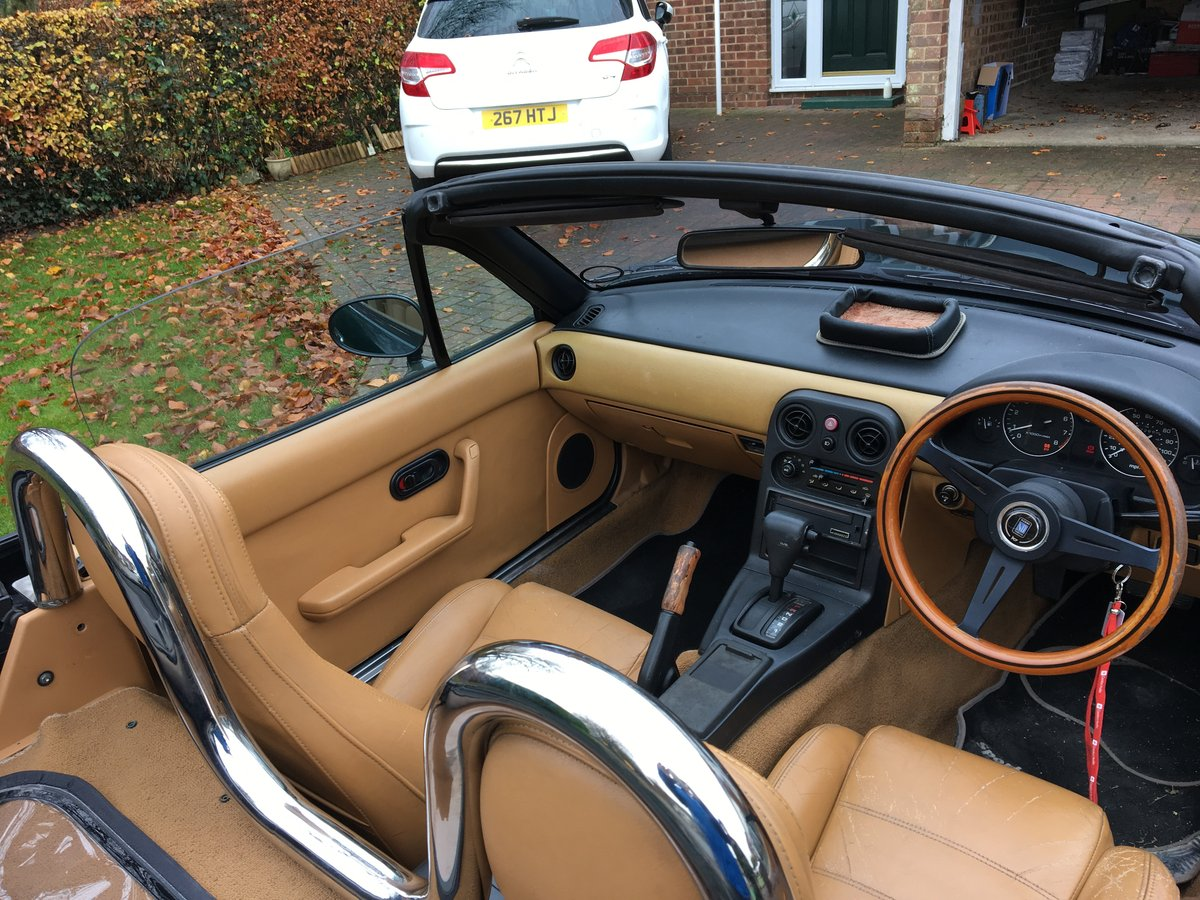 1991 MX5 Eunos Auto. Roadster, New Car forces Sale. For Sale (picture 3 of 5)