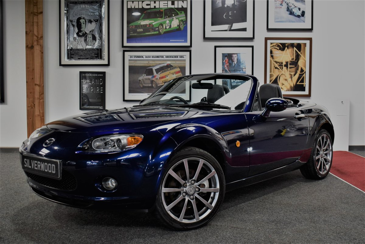 2008 2007 Mazda MX-5 Roadster Sport Coupe For Sale (picture 1 of 6)