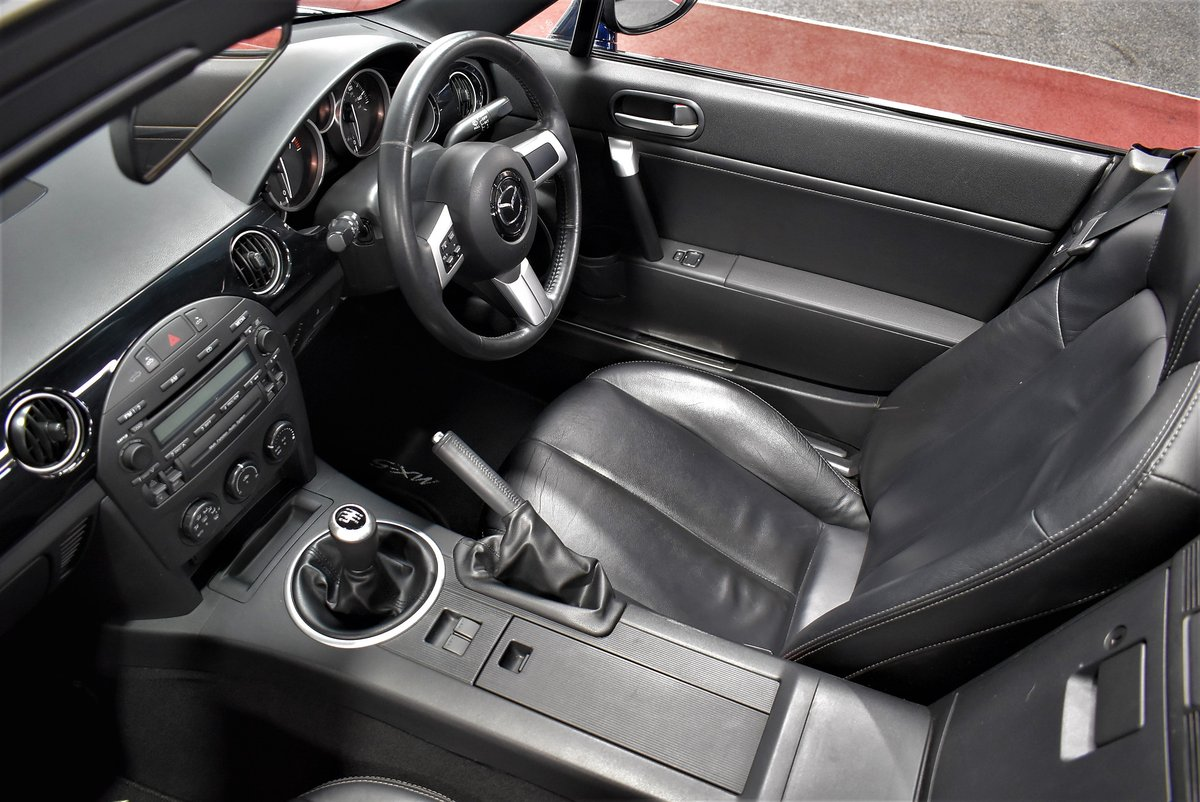 2008 2007 Mazda MX-5 Roadster Sport Coupe For Sale (picture 4 of 6)