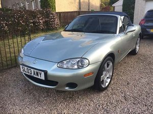 2003 Mazda MX-5 Nevada at Morris Leslie Auction 25th May SOLD by Auction