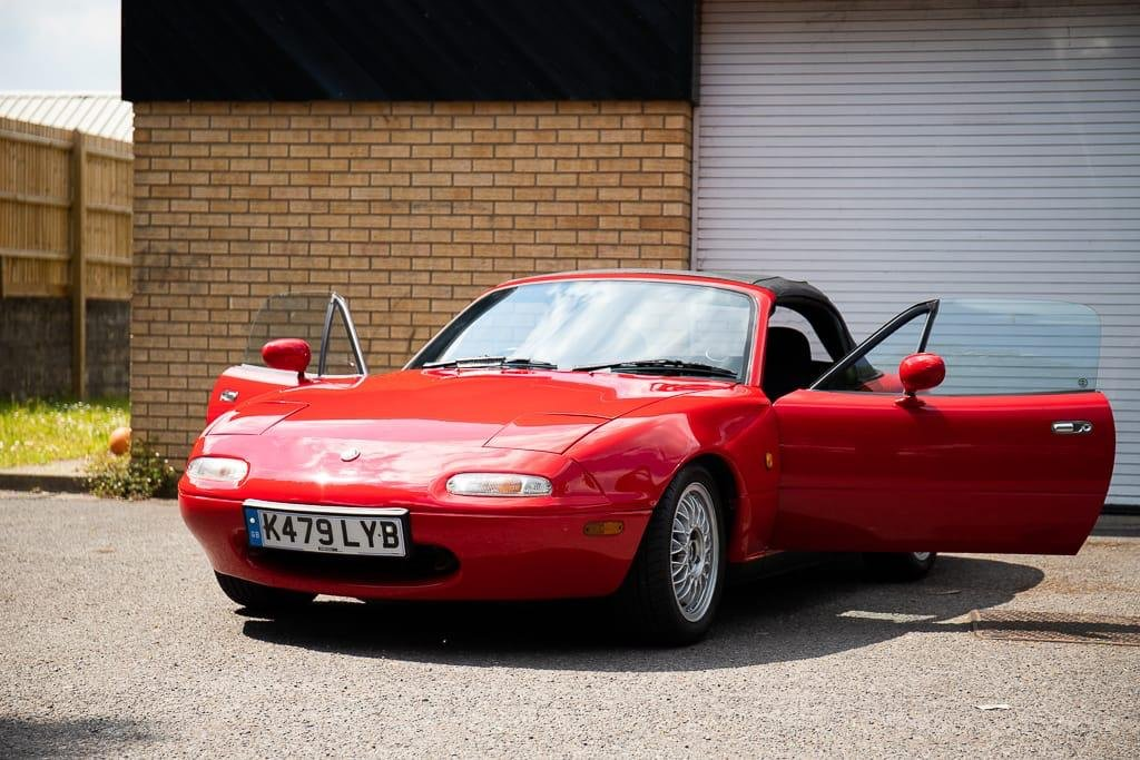 1993 RESTORED MK1 MX5, RESPRAY, RUST REPAIR, NEW CLUTCH For Sale (picture 1 of 6)