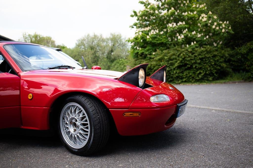 1993 RESTORED MK1 MX5, RESPRAY, RUST REPAIR, NEW CLUTCH For Sale (picture 2 of 6)