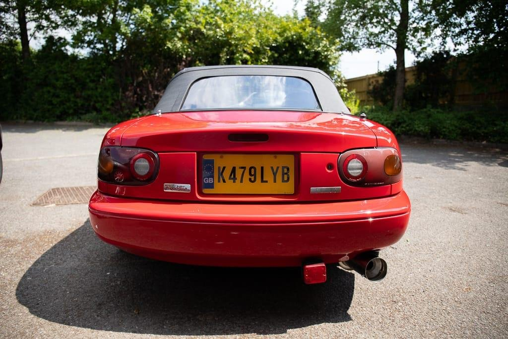 1993 RESTORED MK1 MX5, RESPRAY, RUST REPAIR, NEW CLUTCH For Sale (picture 5 of 6)
