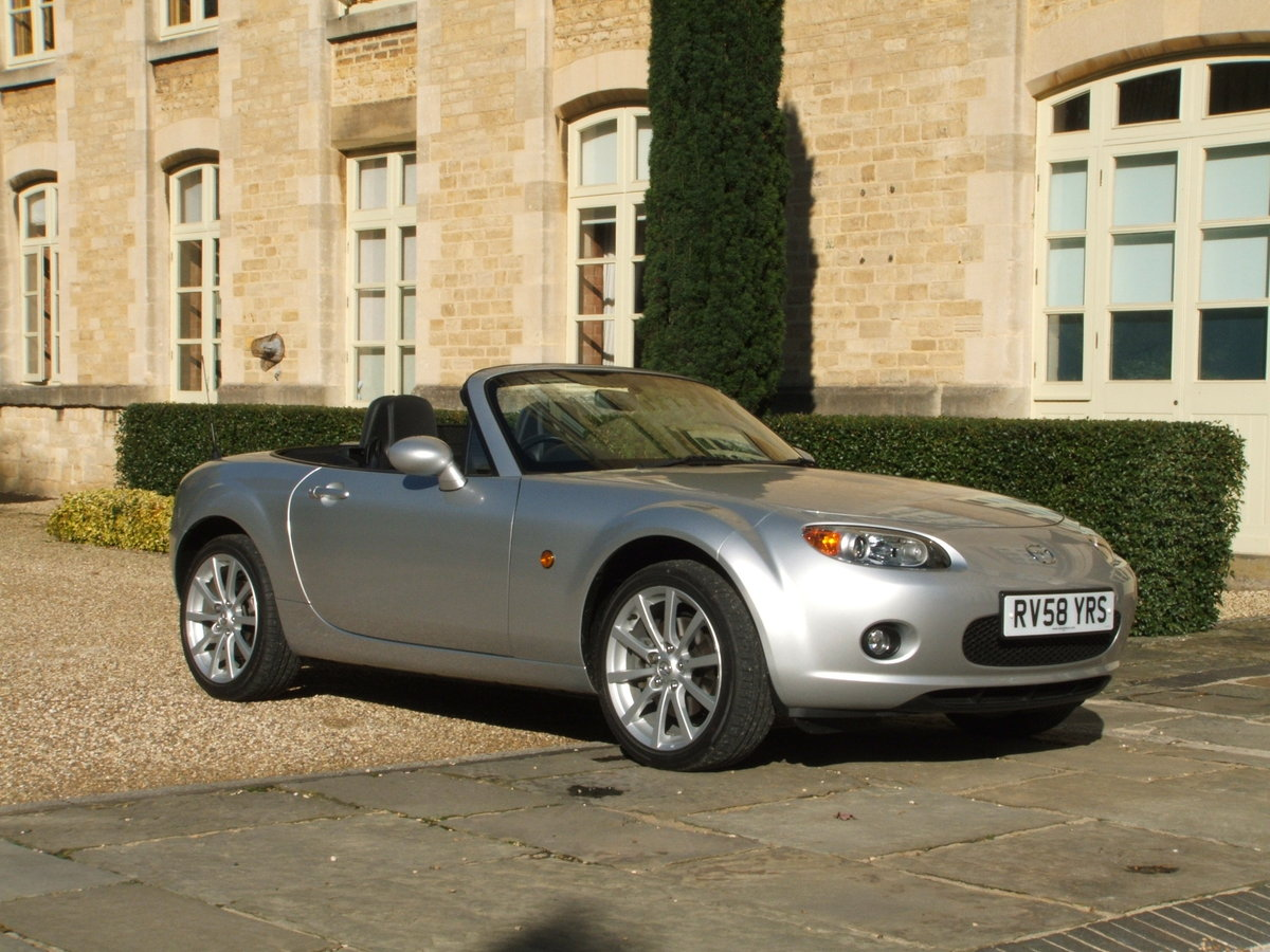 2008 MAZDA MX5 2.0 SPORT MINT & LOW MILES, SHOW CAR For Sale (picture 1 of 6)