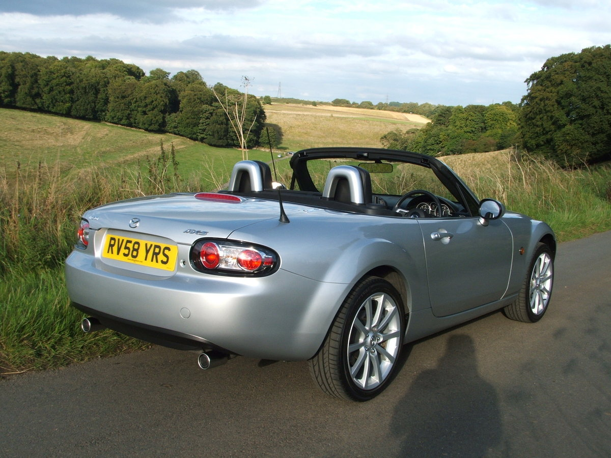 2008 MAZDA MX5 2.0 SPORT MINT & LOW MILES, SHOW CAR For Sale (picture 4 of 6)