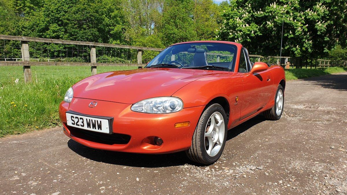 2005 MX5 Icon Chilli Orange 1.6 For Sale (picture 1 of 6)