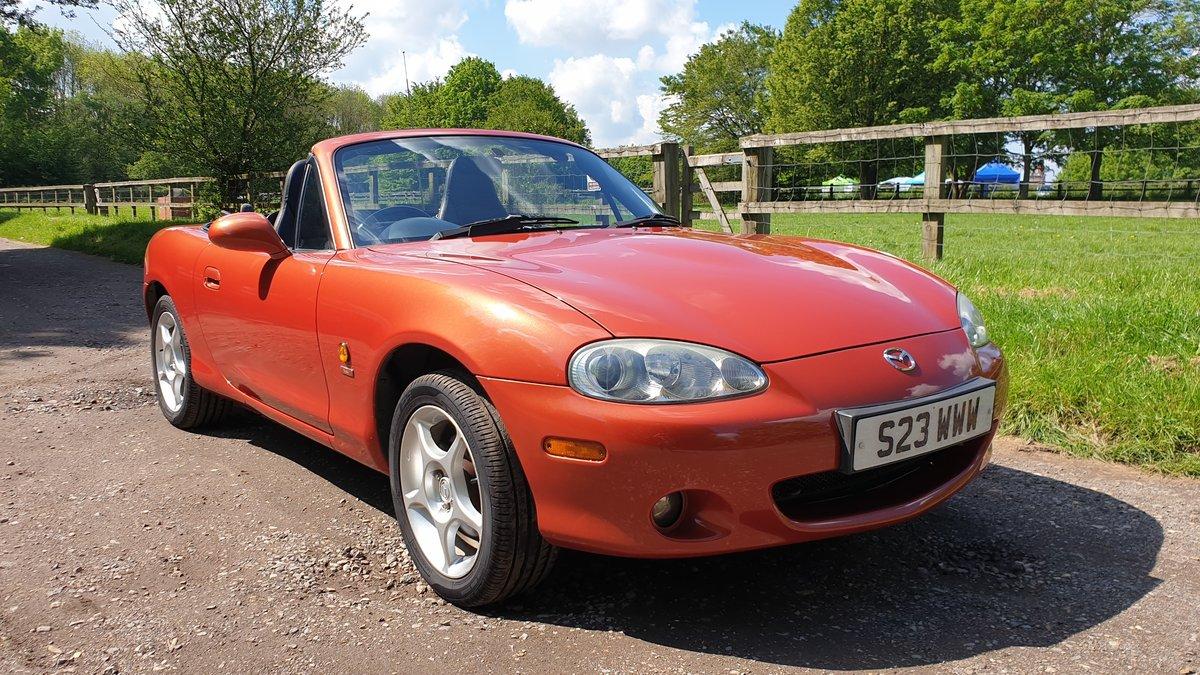 2005 MX5 Icon Chilli Orange 1.6 For Sale (picture 2 of 6)