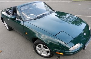 For Sale 1996 MX5 UK 1.8 in British Racing Green SOLD