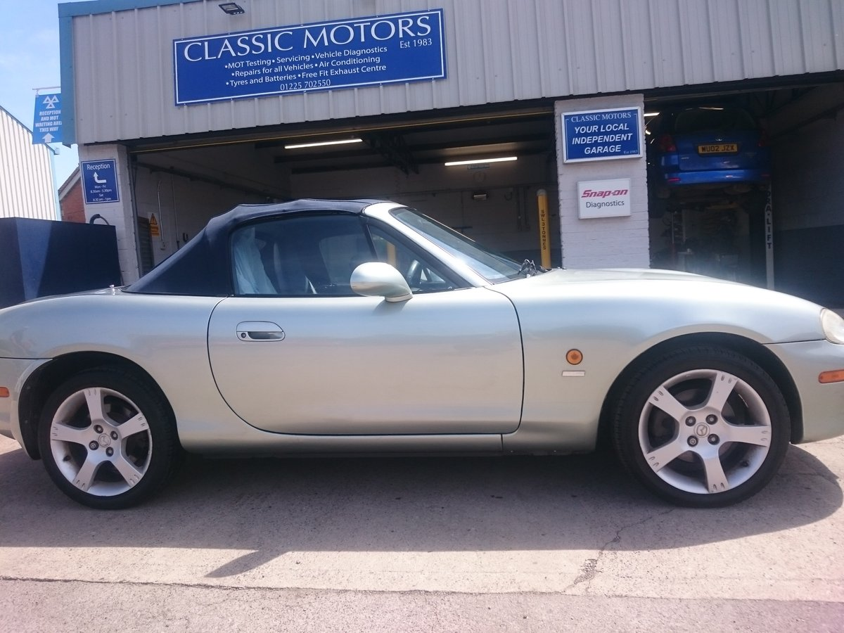 2003 Mazda MX-5 Nevada Low Mileage Excellent condition For Sale (picture 2 of 6)