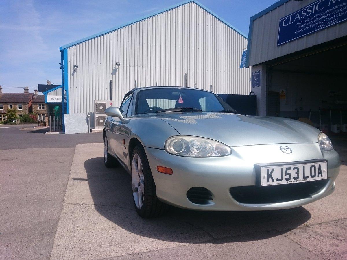 2003 Mazda MX-5 Nevada Low Mileage Excellent condition For Sale (picture 5 of 6)