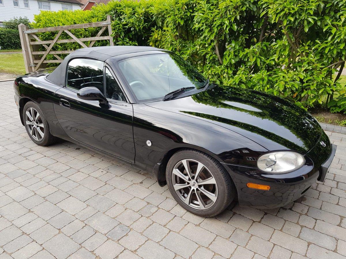 2001 Mazda MX5 1.8iS Jasper Conran Limited Edition SOLD (picture 1 of 6)
