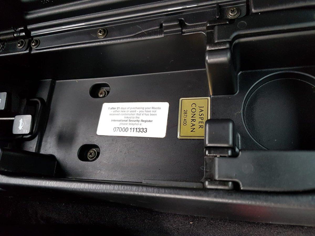 2001 Mazda MX5 1.8iS Jasper Conran Limited Edition SOLD (picture 5 of 6)