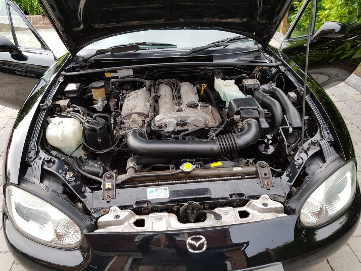 2001 Mazda MX5 1.8iS Jasper Conran Limited Edition SOLD (picture 6 of 6)