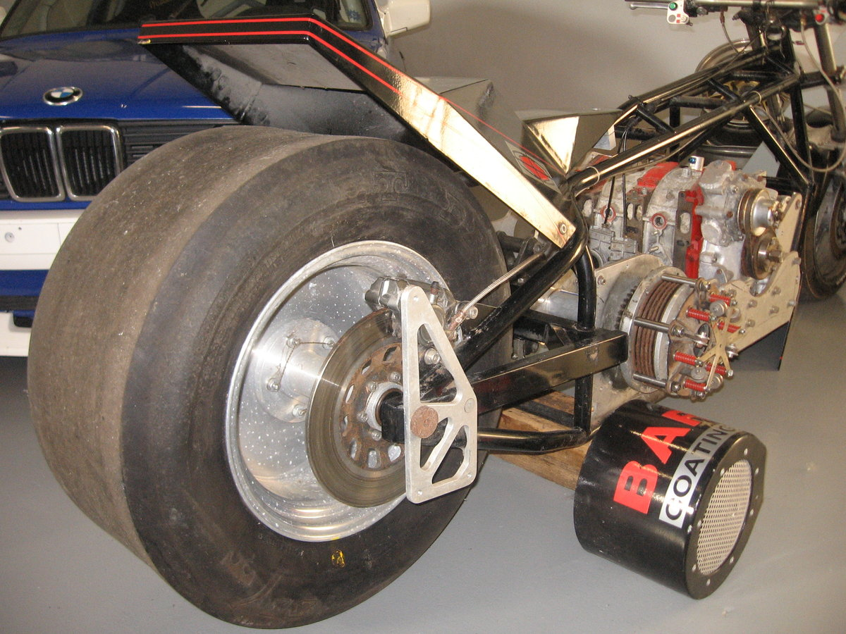 1985 Beautiful Vintage Dragbike with rotation engine. For Sale (picture 3 of 6)
