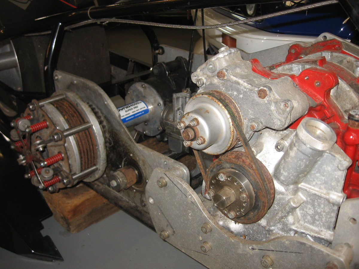1985 Beautiful Vintage Dragbike with rotation engine. For Sale (picture 5 of 6)