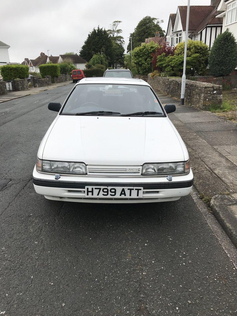 1989 Mazda 626 auto For Sale (picture 3 of 6)