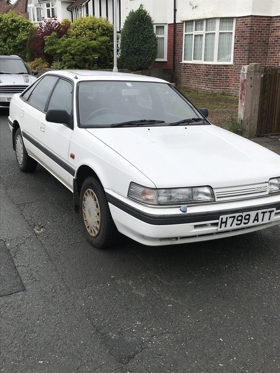 1989 Mazda 626 auto For Sale (picture 6 of 6)