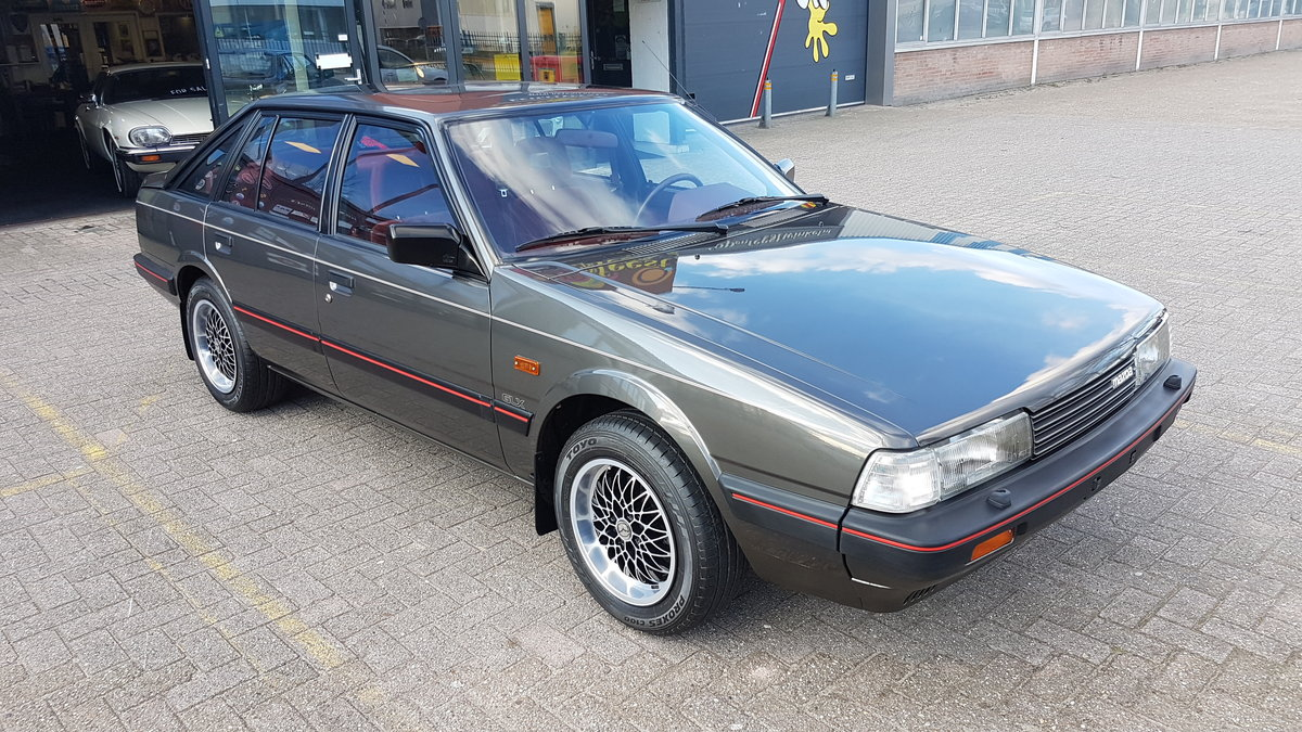 Mazda 626 GLX Hatchback,  NEW: only 180km lhd 1986 For Sale (picture 1 of 6)